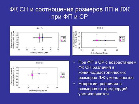 Ультразвуковая оценка состояния левых отделов сердца при фибрилляции предсердий